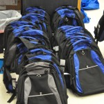 Backpacks, Ready to Go!