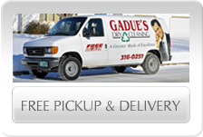 Gadue's FREE Pick Up & Delivery